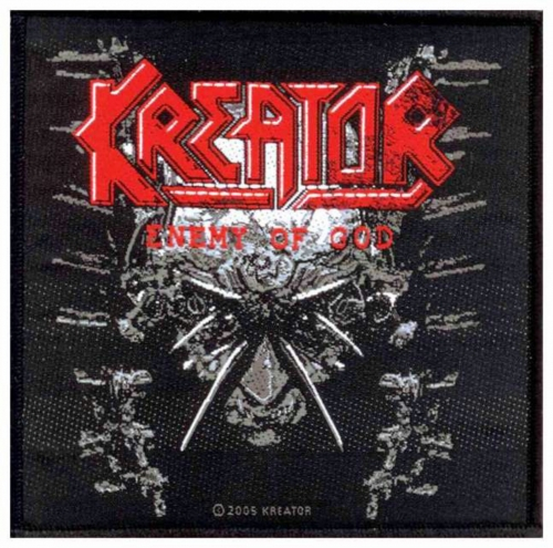 Kreator Enemy Of God Aufnäher | 1957