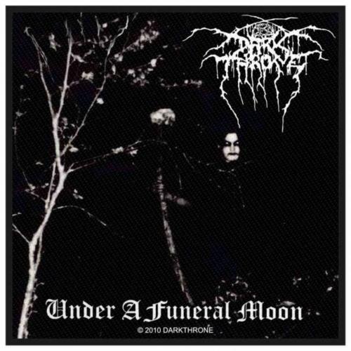 Darkthrone Under A Funeral Moon Aufnäher | 2498