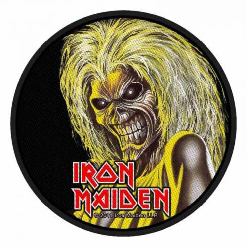 Iron Maiden Killers Face Aufnäher | 2520