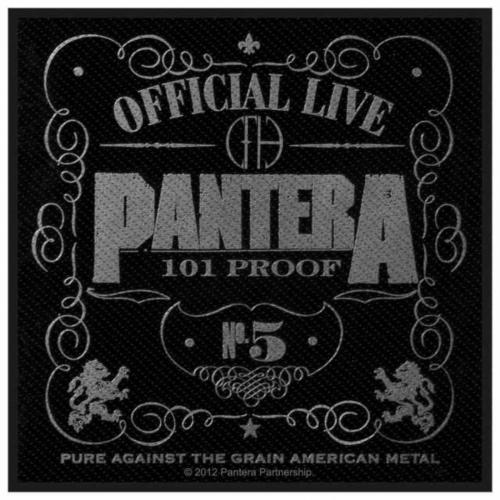 Pantera 101% Proof Aufnäher | 2629