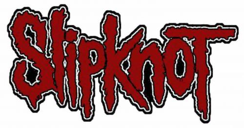 Slipknot Logo Aufnäher   2632