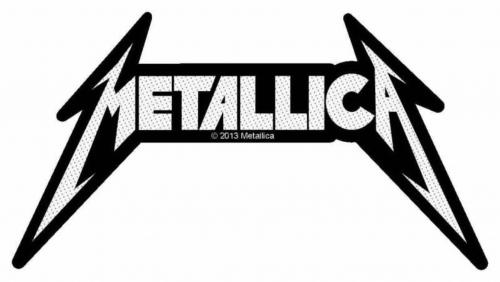 Metallica Shaped Logo Aufnäher   2726
