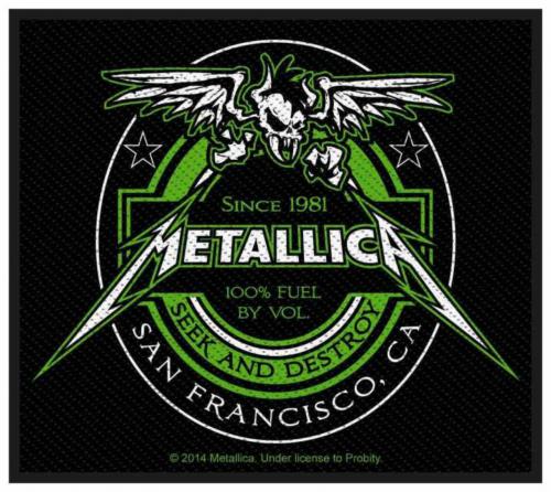 Metallica Beer Label Aufnäher | 2747