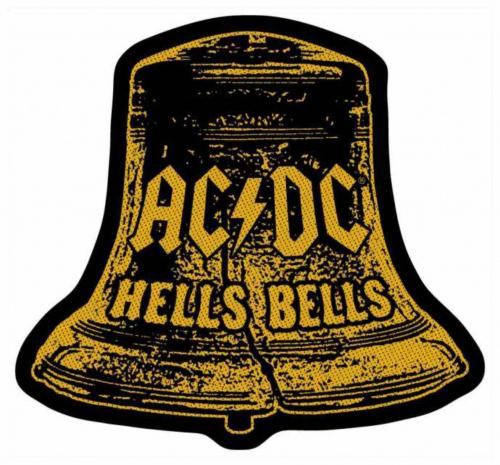 AC/DC Hells Bells Cut Out Aufnäher   2829