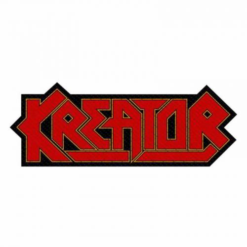 Kreator Logo Cut-Out Aufnäher   2860