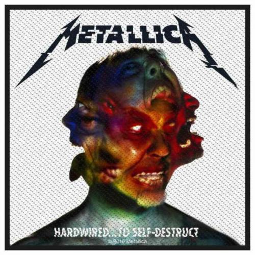 Metallica Hardwired To Self Destruct Aufnäher   2874