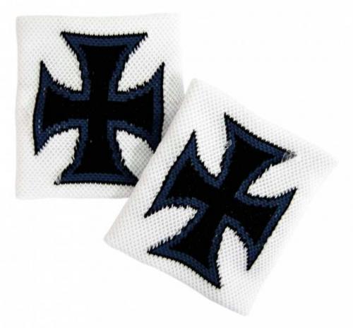 Eisernes Kreuz Schweißband In Weiß