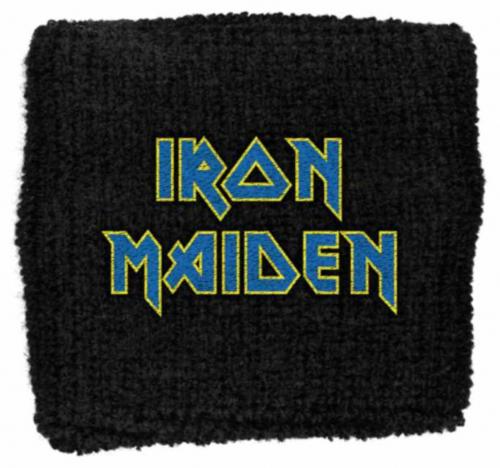 Schweißband Iron Maiden Blue Logo