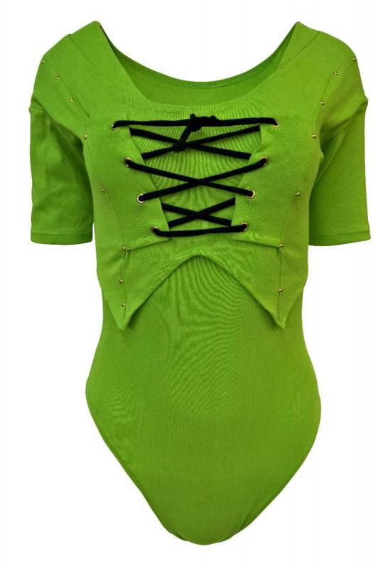 Damen Body Grün Kurzarm Jetzt noch Portofrei Bestellen a737f0f5a2