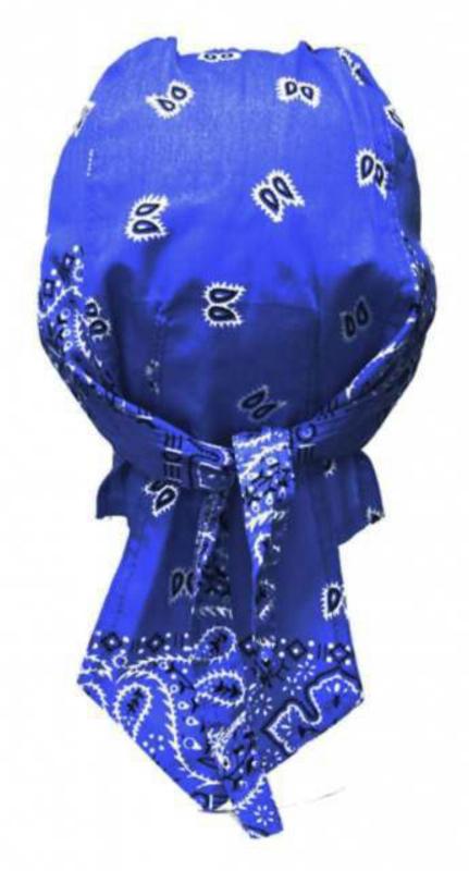 bandana kopftuch paisley blau wei portofrei und auf. Black Bedroom Furniture Sets. Home Design Ideas