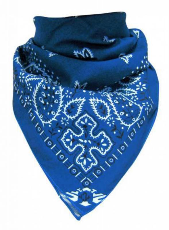 bandana halstuch paisley blau wei portofrei und auf. Black Bedroom Furniture Sets. Home Design Ideas