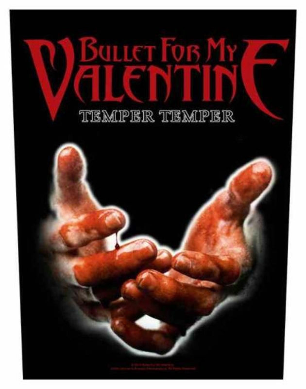 Backpatch Bullet For My Valentine Temper Temper