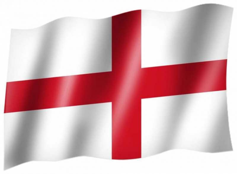Fahne England Bild - Vorlagen zum Ausmalen gratis ausdrucken