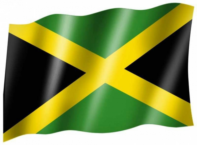 Flagge Von Jamaika