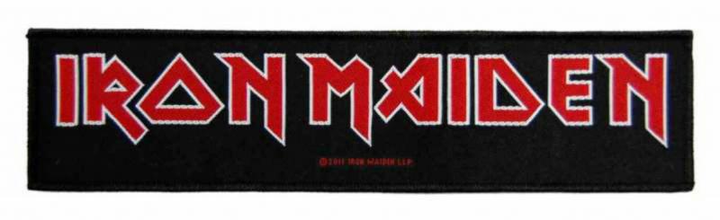 Iron Maiden Logo Superstrip Aufn/äher