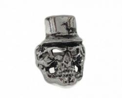 Totenkopf mit Hut Ring