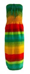Regenbogen Kleid Sommerbrise