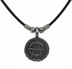Punk Halskette Anarchie Symbol