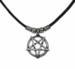 Gothic Halskette Kleines Pentagramm