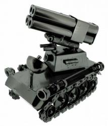 Schraubenfigur Raketenpanzer