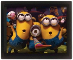 Despicable Me 2 Minions Party 3D Picture