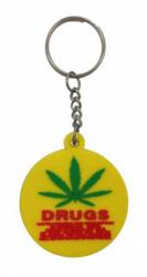 Gummi Schlüsselanhänger Cannabis Drugs