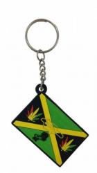 Gummi Schlüsselanhänger Jamaika