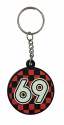 Gummi Schlüsselanhänger 69