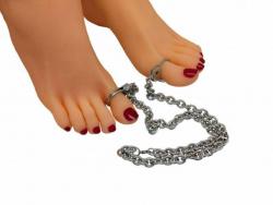 Fußzehen Schellen