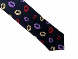 Coole Krawatte mit Kuss