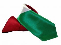 Krawatte mit Kurdistan Flagge