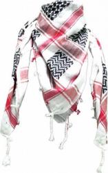 Arafat Schal - Weiss Schwarz Rot