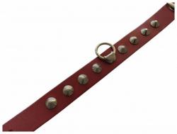 Fetisch Fesselband Rot mit Spitznieten