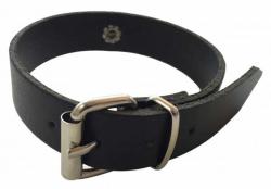 Fetisch Fesselband Schwarz mit O-Ring