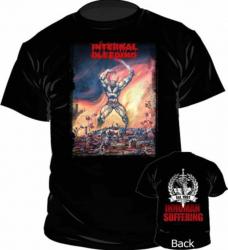 T-Shirt Internal Bleeding Inhuman Suffering