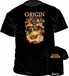 T-Shirt Origin Hail Space