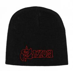 Beanie mit Saxon - Logo