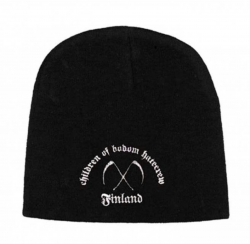 Beanie mit Children of Bodom - Finland Logo