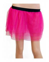 Tüllrock Pink