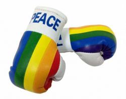 Mini Boxhandschuhe Peace