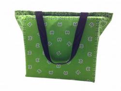 Grüne Bandana Tasche