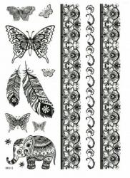 Henna Schmuck Tattoo