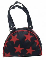 Rote Sterne Handtasche
