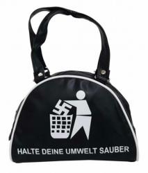 Halte deine Umwelt sauber Handtasche