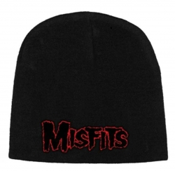 Beanie with Misfits Red - Logo