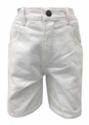 Kinder Shorts Weiss