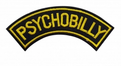 Aufnäher Psychobilly