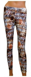 Leggings Blumen