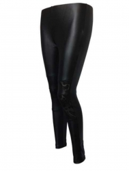 Schwarze Club Leggins