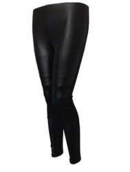Club Leggings im Lederlook